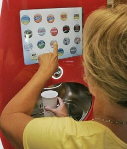 Coke Freestyle In Use